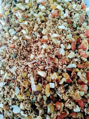 Huisgemaakte granola per halve of volledige kg