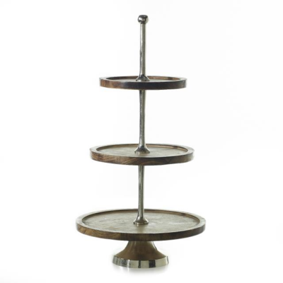3 Tier wood stand