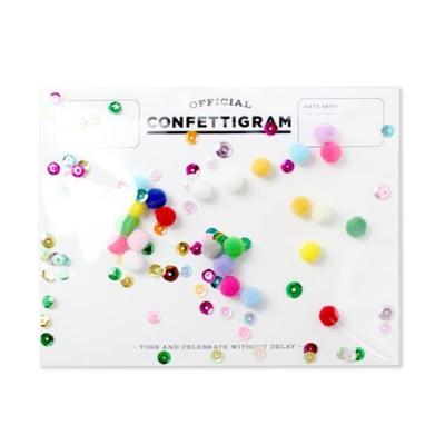 Confettigram