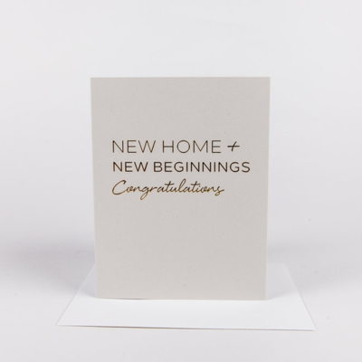 New Home Greeting
