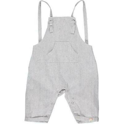 Ahoy Shortie Overall Grey Stripe