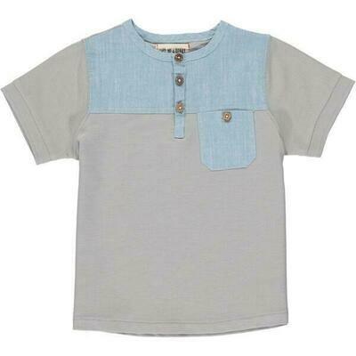 Boardwalk Shirt Light Grey