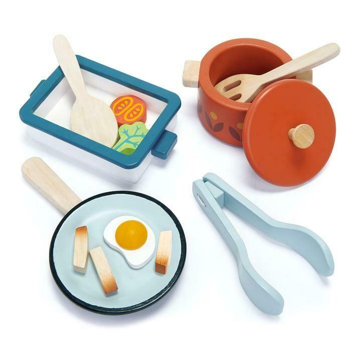 Mini Chef Pots & Pans