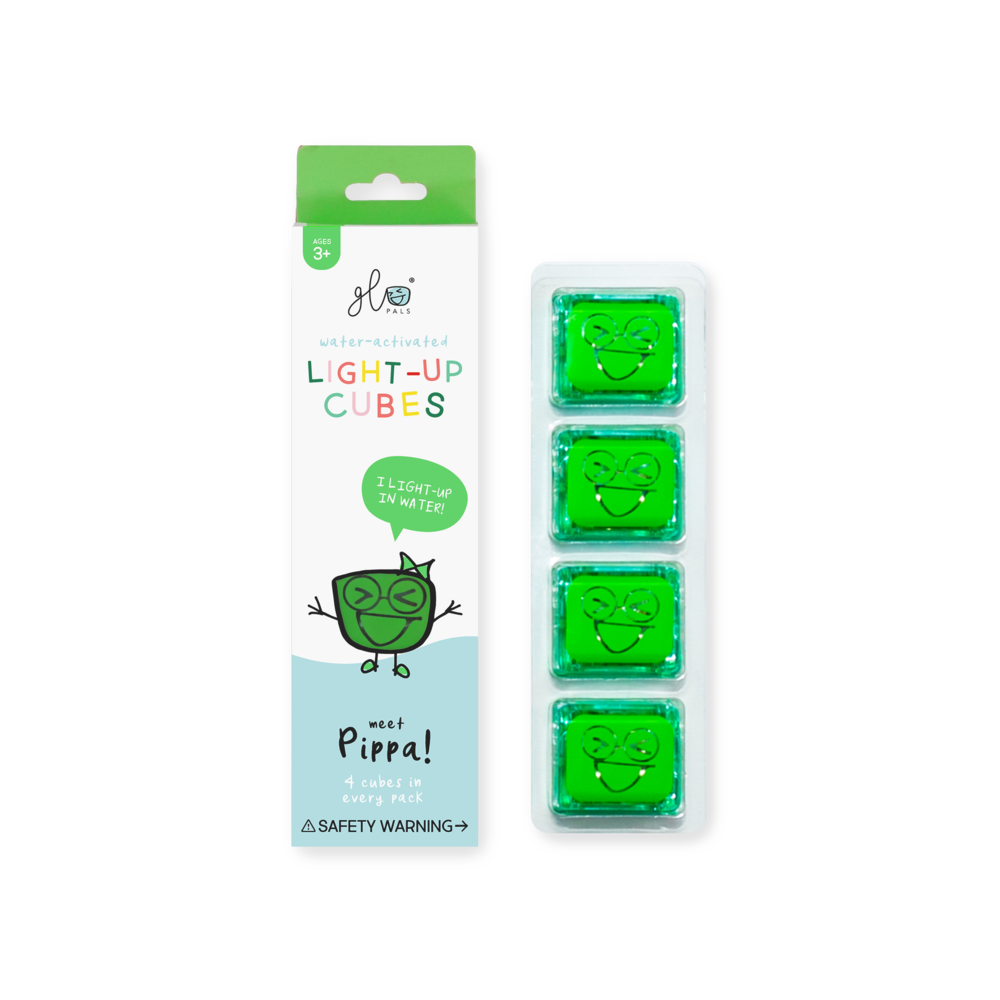Glo Pals 4 Pack Green