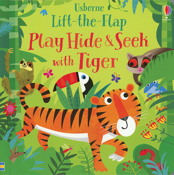 Play Hide & Seek with Tiger
