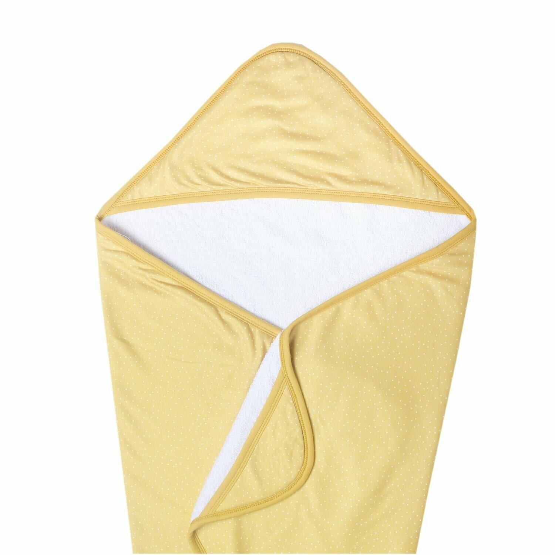 Marigold Knit Hooded Towel