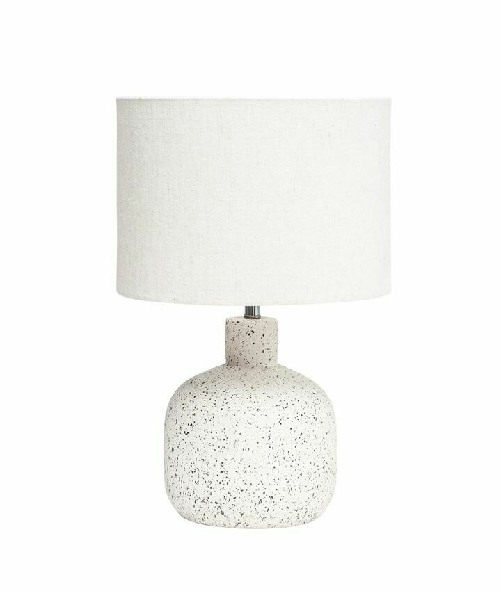 Terrazzo Lamp with Damaged Shade
