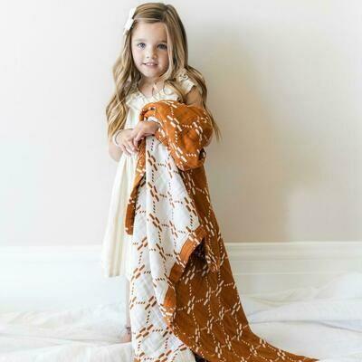 AJJ Juliet Copper Muslin Quilt