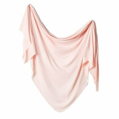 Blush Knit Blanket Single