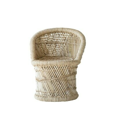 Bamboo & Rope Kid's Chair