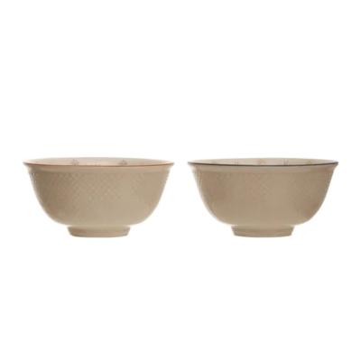 "4.75"" Vintage Stoneware Bowl"
