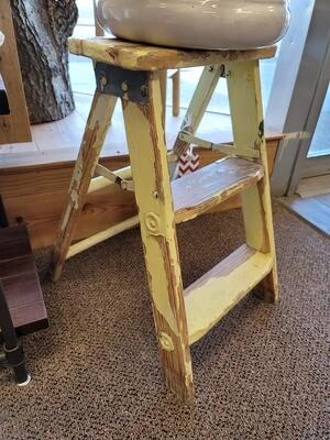 Yellow Step Ladder