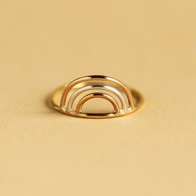 Rainbow Ring Sz7