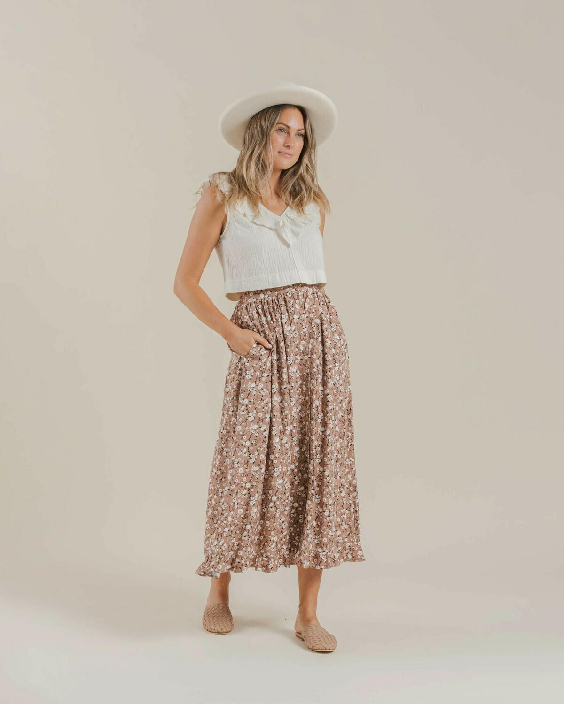 Dahlia Oceanside Skirt Women's Terracotta