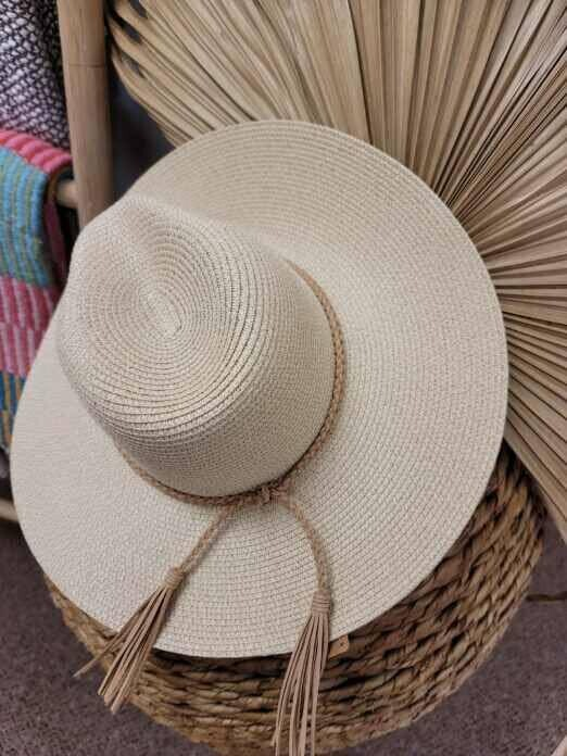 Braid Tassel Hat