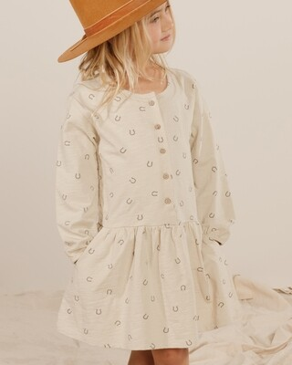HorseShoes Button-up Dress