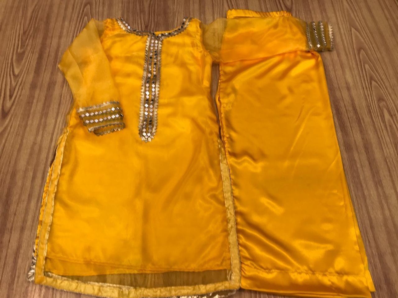 ORGANZA MIRROR AND TILLA WORK DRESSES