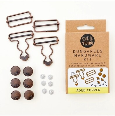Dungaree hardware kits Aged Copper