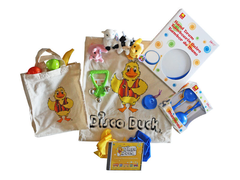 Disco Duck Activity Pack - dance along at home!