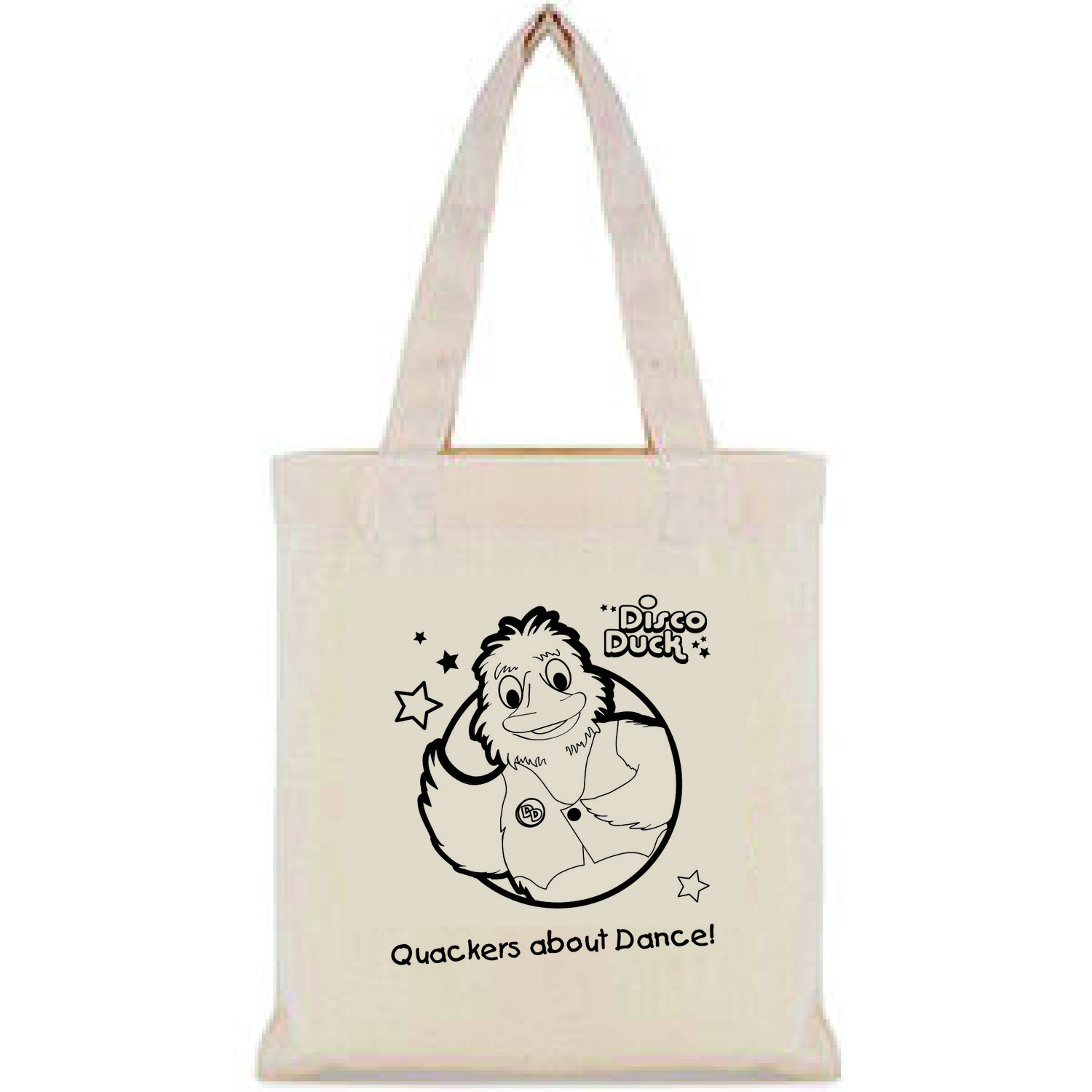 Small cotton shopping bag.