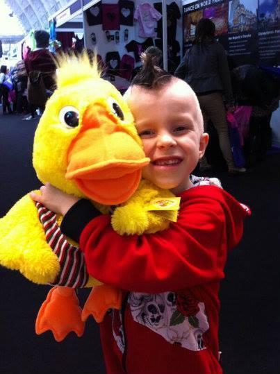Disco Duck puppet