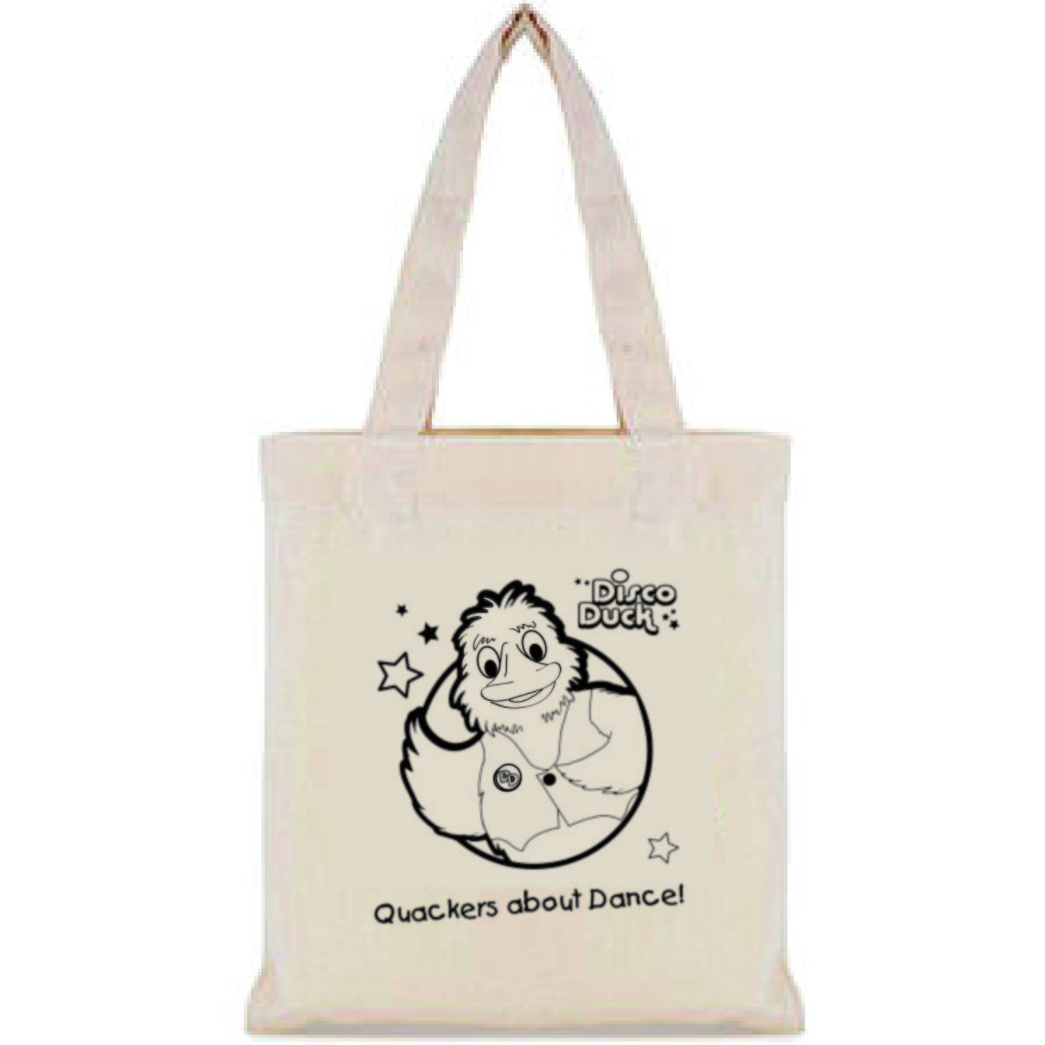 Disco Duck small shopping bag.