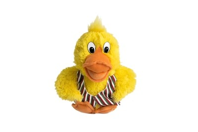Disco Duck Small soft toy.
