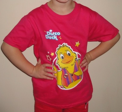 Childs T shirt Pink (order quantity 1-9) RRP £10.50. Please specify sizes.
