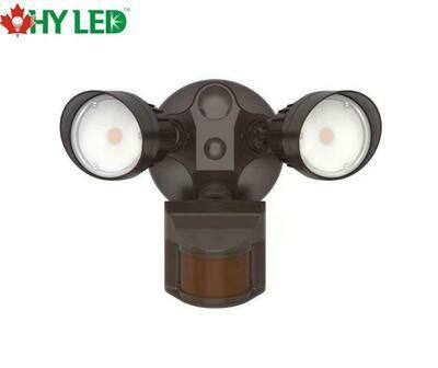 LED SECURITY MOTIOIN SENSOR LIGHT BROWN 20W 5000K 100DE HY HLE