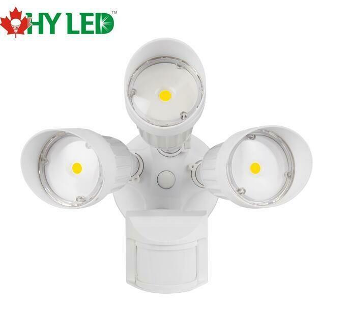 LED SECURITY MOTIOIN SENSOR LIGHT WH 30W 5000K 100DE HY HLE
