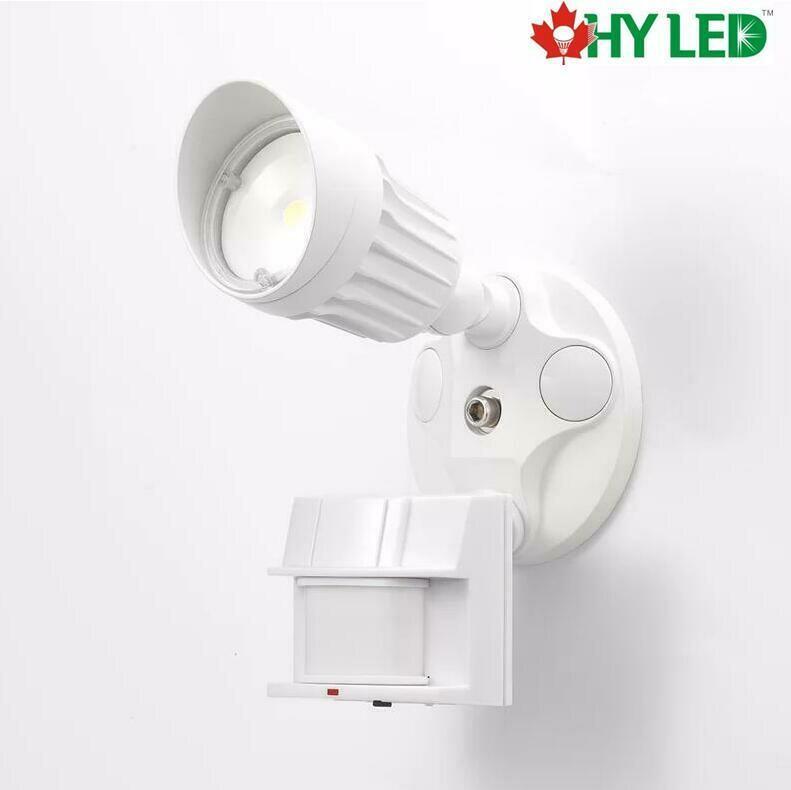 LED SECURITY MOTIOIN SENSOR LIGHT WH 10W 5000K 100DE HY HLE