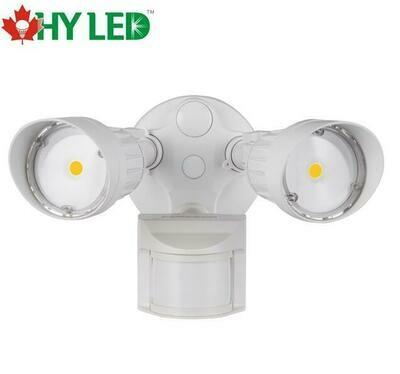 LED SECURITY MOTIOIN SENSOR LIGHT WH 20W 5000K 100DE HY HLE