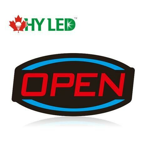 """OPEN SIGN-17""""X9""""-HY-HL"""
