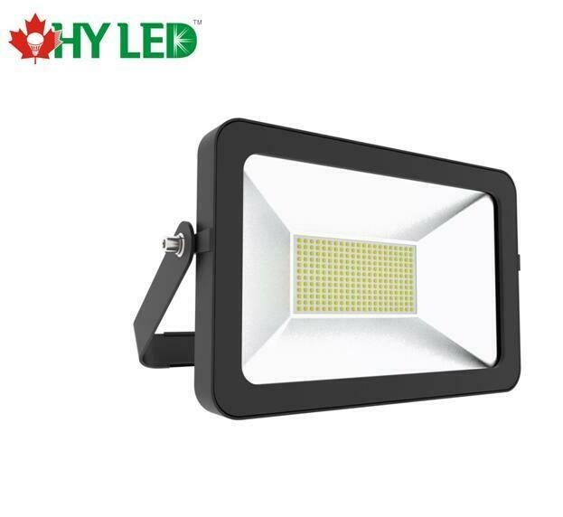 LED FLOOD LIGHT DLC 100W 120V 5000K DRIVERLESS HY SLT