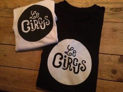 T-shirt noir ou blanc (sticker offert)