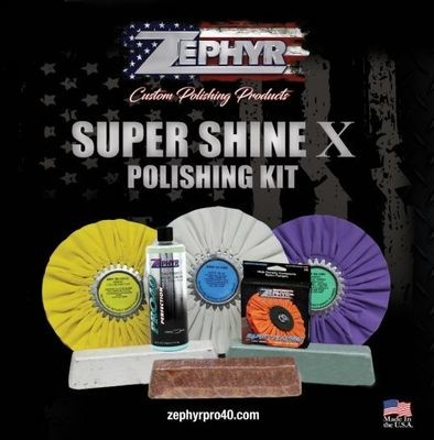 Super Shine X Polishing Kit