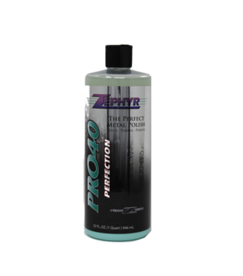 Pro-40 Perfection Metal Polish 32 oz.