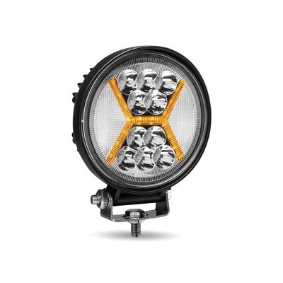 Round LED Work Lamp