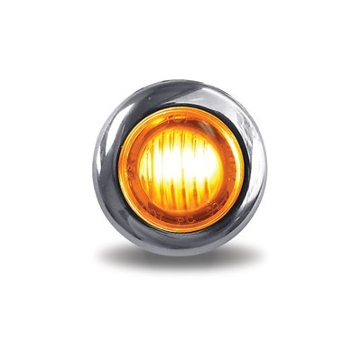 Dual Revolution LED Button Light Amber/Red