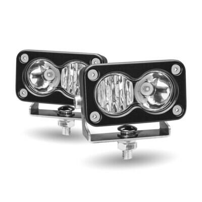 Mini Rectangular LED Work Lamps