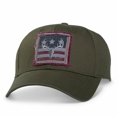 Peterbilt Antler Flag Hat