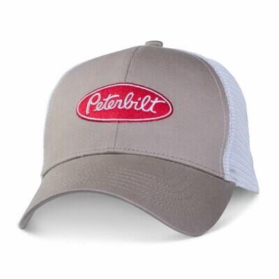 Peterbilt Khaki Mesh Hat