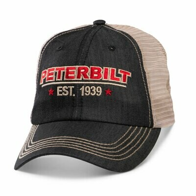 Peterbilt Denim Mesh Back Hat