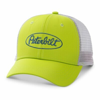 Peterbilt Neon Green Hat