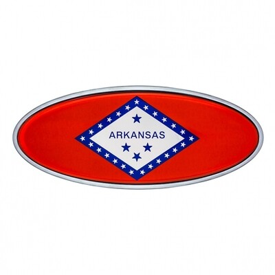 Die Cast Arkansas Flag Emblem