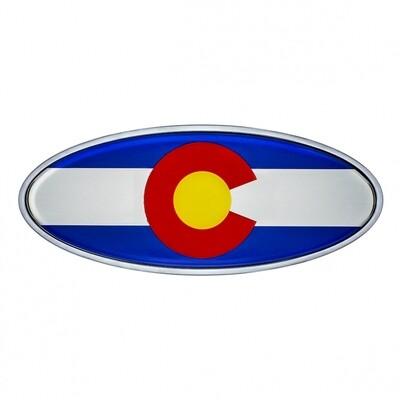 Die Cast Colorado Flag Emblem