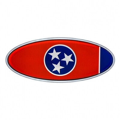 Die Cast Tennessee Flag Emblem