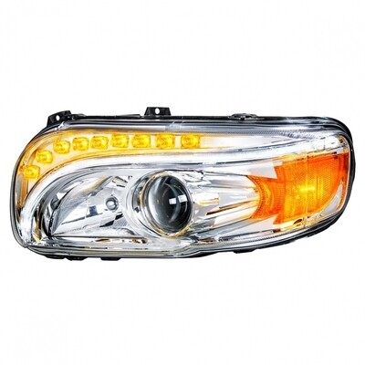 Chrome Projection Headlight for Peterbilt 389