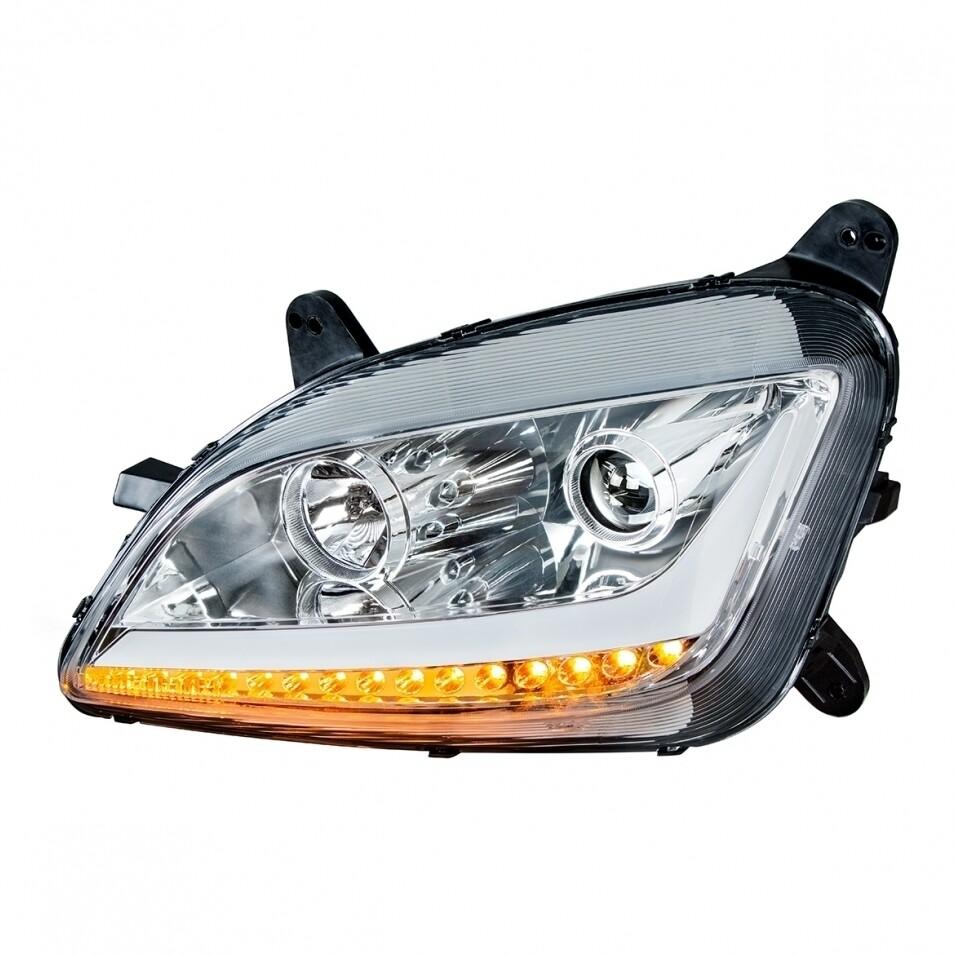 Peterbilt 579 Headlight Chrome