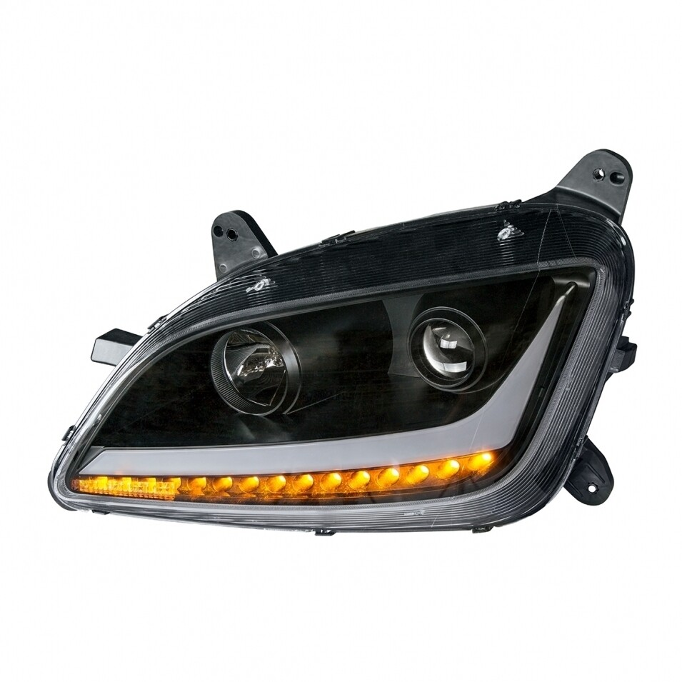 Headlight Blackout for Peterbilt 579